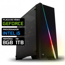 Pc Gamer T-Soldier Lvl-1 Intel Core i5 / Nvidia GeForce / DDR4 8GB / HD 1TB