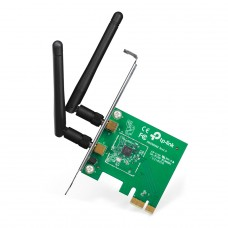 Adaptador Wireless N PCI Express TP-Link, 300Mbps, TL-WN881ND