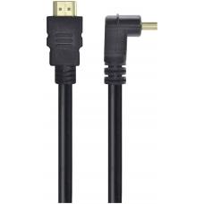 Cabo HDMI 2.0 Vinik H2090-3 4K Ultra HD 3D C/Conector 90º 3m