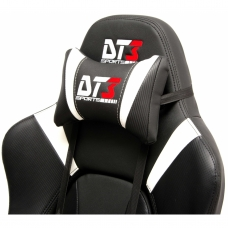 Cadeira Gamer DT3sports Elite Prime, Black-Carbon-White