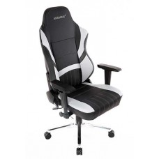 Cadeira Gamer AKRacing, Meraki, Reclinável, Preta/Branco, 11069-7