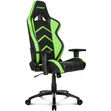 Cadeira Gamer AKRacing Player Black Green 10039-3 - Open Box