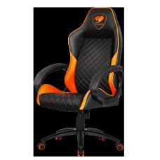 Cadeira Gamer Cougar Fusion, Black/Orange, 3MFUSNXB.0001