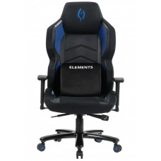 Cadeira Gamer Elements Magna ACQUA, Reclinável, Black-Blue