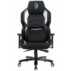 Cadeira Gamer Elements Magna AER, Reclinável, Black-White