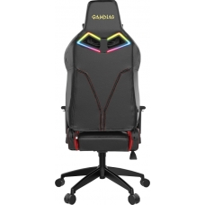 Cadeira Gamer Gamdias Achilles RGB E1 L, Black-Red, GD-ACHILLESE1LBR