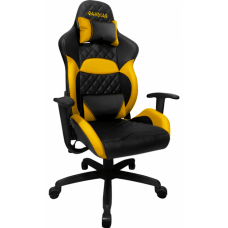 Cadeira Gamer Gamdias Zelus E1-L, Black-Yellow, GD-ZELUSE1LBY