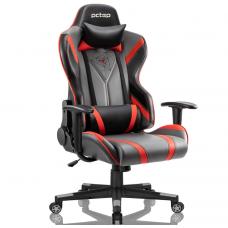 Cadeira Gamer PCTop Spider X-2577, Reclinável, Black/Red