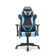 Cadeira Gamer PCTop Top 1022, Reclinável, Black/Blue