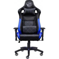 Cadeira Gamer PCYes Mad Racer V10 MADV10AZGL Preta/Azul - Open Box
