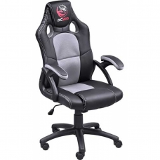Cadeira Gamer PCYes Mad Racer V6, Black-Grey, MADV6CZ