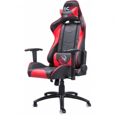 Cadeira Gamer PCYes Mad Racer V8, Black-Red, MADV8VMGL - Open Box