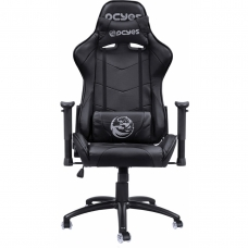 Cadeira Gamer PCYes Mad Racer V8, Black, MADV8PTGL