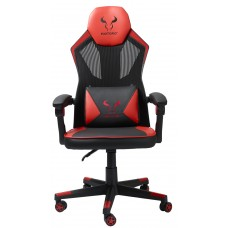 Cadeira Gamer Riotoro, Spitfire M1, Mesh, Reclinável, Black/Red, GC-10M1