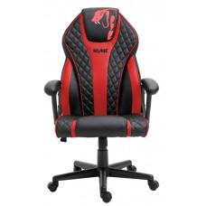 Cadeira Gamer Snake Naja 411, Reclinável, Black-Red