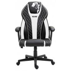 Cadeira Gamer Snake Naja 411, Reclinável, Black-White