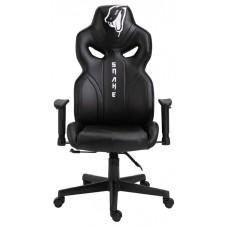 Cadeira Gamer Snake Python 021, Reclinável, Black
