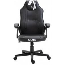 Cadeira Gamer Snake Viper 045, Reclinável, Black