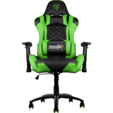 Cadeira Gamer ThunderX3 TGC12, Black-Green, TGC-BG