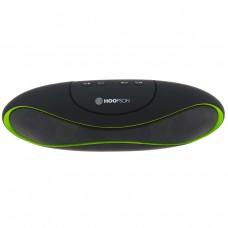 Caixa de Som Portátil Hoopson RB003-D, Bluetooth, USB, Micro SD, 3W, Verde