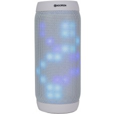 Caixa de Som Portátil Hoopson TH26B, Bluetooth, USB, Micro SD, 6W, Branca