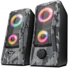 Caixa de Som, Trust, GXT606 JAVV, RGB, 2.0, 6W, RMS