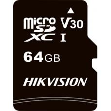 Cartão de Memória Hikvision Micro SD 64GB, Adaptador Class 10