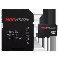 Cartão de Memória Hikvision Micro SDHC , 8GB, Class 10, HS-TF-C1/8G - COM ADAPTADOR
