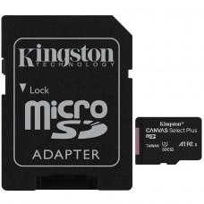 Cartão de Memória Kingston Canvas Select Plus, Micro SDHC 16GB, V10, SDCS2/16GB - COM ADAPTADOR
