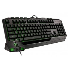 Combo Gamer Teclado e Mouse Cooler Master Devastator 3 Plus, MEM-CHANICAL SWITCHES, RGB, ABNT, Black, SGB-3001-KKMF1-BR