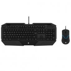 Combo Mouse e Teclado HP GK1000 PTO, 1600DPI, 4 Botões Programáveis, Black, H-99295