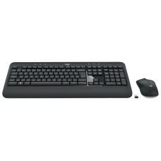 Combo Teclado e Mouse Logitech MK540 Advanced Sem Fio ABNT2 Black, 920-008674 - Open Box