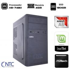 Computador NTC T-Home AMD A6 7480 / 4GB DDR3 / SSD 120GB / LINUX