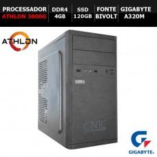 Computador NTC T-Home AMD Athlon 3000G / 4GB DDR4 / SSD 120GB / Linux
