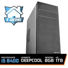 Computador T-home Intel I5 8400 / 8gb Ddr4 / Hd 1tb