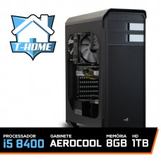 Computador T-home Intel I5 8400 / 8gb Ddr4 / Hd 1tb