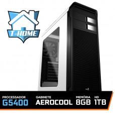 Computador T-home Intel Pentium G5400 3.7ghz 4mb / 8gb Ddr4 / Hd 1tb