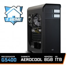 Computador T-home Intel Pentium G5400 3.7ghz 4mb / 8gb Ddr4 / Hd 1tb