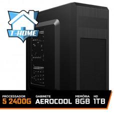 Computador T-home Ryzen 5 2400g / 8gb Ddr4 / HD 1TB