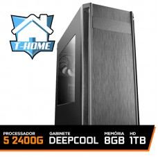 Computador T-home Ryzen 5 2400g / 8gb Ddr4 / HD 1TB