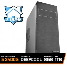 Computador T-home Ryzen 5 3400G / 8Gb DDR4 / HD 1TB