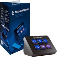Controlador de Transmissão Stream Deck Elgato Mini, USB Integrado, 10GAI9901