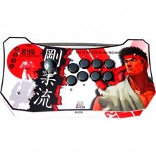 Controle Arcade para PC, PS3 e PS4 2ND Impact RYU Full Acrílico Manche Optico Silent