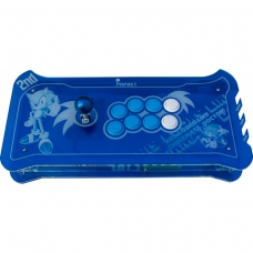 Controle Arcade para PC, PS3 e PS4 2ND Impact Sonic Full Acrílico Manche Optico Silent