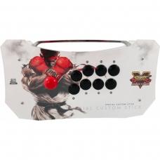 Controle Arcade para PC, PS3 e PS4 2ND Impact Street Fighter V Full Acrílico Manche Optico Silent