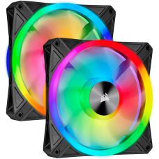 Cooler Para Gabinete Corsair RGB, 140mm RGB LED Fan, Dual Pack with Lighting CO-9050100-WW