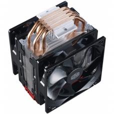 Cooler para Processador Cooler Master Hyper 212, LED Red 120mm, Intel-AMD, RR-212TR-16PR-R1