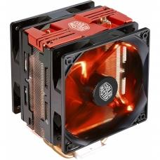 Cooler para Processador Cooler Master Hyper 212, LED Turbo Red 120mm, Intel-AMD, RR-212TR-16PR-R1