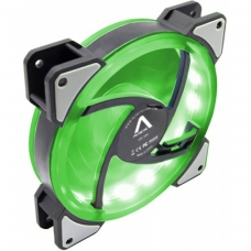 Cooler Para Gabinete Alseye D-Ringer, LED Green 120mm, DR-120-SG