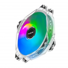 Cooler para Gabinete Alseye M120-P White, Rainbow, 120mm